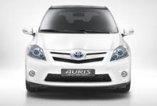 Toyota Auris - som hybrid.