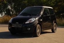 Mopedbilen Ligier X-Too RS kostar med direktinsprutad dieselmotor 154 900 kronor.