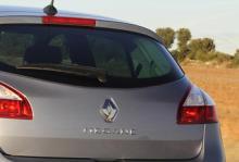 """Renault Mégane kallades i en annons för """"miljövänlig""""."""
