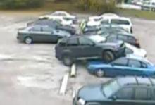 """Grips efter """"världens sämsta parkering"""""""