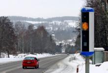 62 500 fortkörare bötfälldes under förra året - men 13 000 slapp också undan.<br />Foto: Elin Dahlgren/Vägverket