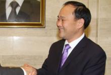 Geelys ordförande Li Shu Fu.