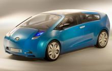 Toyota Hybrid X Concept, konceptbil från 2007. Är det så Prius i kombiversion kommer att se ut?
