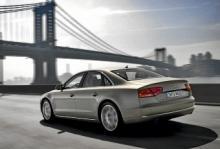Nya Audi A8.