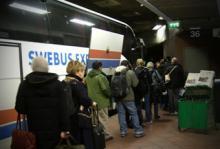 Nekades på buss - får ersättning