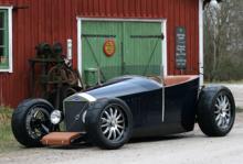 """Konsortiet Jakob är döpt efter Volvos första bilmodell med samma namn, här i en """"hot rod""""-version."""