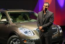 Tiger Woods har bland annat introducerat 2008-års modell av Buick Enclave.