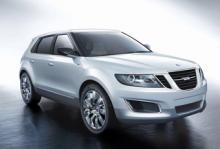 Saab 9-4X, en suv/crossover som innan GM:s beslut om nedläggning skulle börja byggas under 2010.