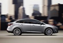 Nya Ford Focus är en av de modeller som ska byggas utifrån den nya C-plattformen.