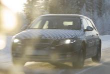 Trots beslut om avveckling fortsätter Saab, av allt att döma, med testerna av nya Saab 9-5 Sportcombi. Foto: Vi Bilägare