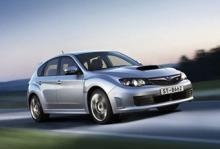 Subaru skalar av WRX STI