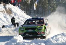 Mikko Hirvonen vann Rally Sweden 2010.