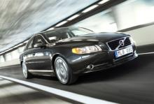Volvo S80 - nu under 120-gramsgränsen.