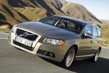Volvo V70 - nu under 120-gramsgränsen.