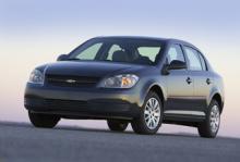 Chevrolet Cobalt är en av de bilar som omfattas av återkallelsen.