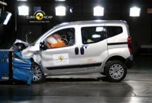 Endast tre stjärnor för Citroën Nemo.