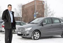 Köper man en biogasbil så utgår man från att den går att använda som en sådan även om det är minusgrader, säger Bo Karlsson.