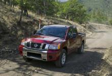 Nissan Titans bromsar kan få reducerad bromsverkan.