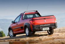Peugeot Hoggar - 206 som pickup