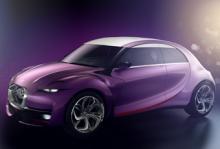 Citroën Revolte, konceptbil som presenterades på förra årets bilsalong i Frankfurt.