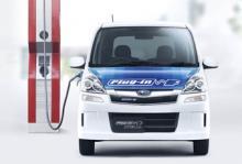 Subaru Stella Plug-in har redan lanserats i Japan.