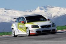 Se Volvo testa ny STCC-bil