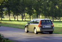 Volvo V70 slopas i USA