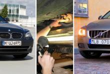 BMW och Volvo i botten
