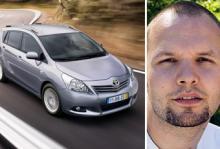 Bästa köp för Andreas Karlsson är en nästan ny Toyota Verso.