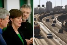 Rödgröna vill rösta om Förbifart Stockholm