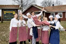 Annette Hjalmarsson och hennes köksteam har gjort Tindered till en av Sveriges bästa vägkrogar.