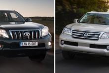 Toyota återkallar suvar