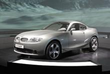 Konceptbilen BMW X Coupé.