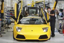 Lamborghini återkallar sportbilen Murciélago