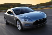 Tesla Model S lanseras 2012.