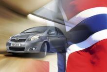 Toyota tar hem förstaplatsen i AutoIndex 2010 för Norge.