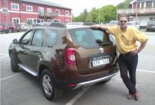 Vi Bilägares Erik Rönnblom provkör Dacia Duster.