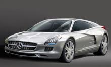 Så här kommer nya Mercedes SLM att se ut, spår Vi Bilägares välunderrättade illustratör Herbert Müdsam.