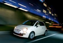 Fiat 500 nu tvåcylindrig