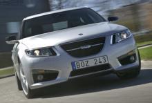 Saab 9-5, en kandidat till Årets Bil.