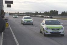 Opel vill stärka sig i Skandinavien - bland annat genom gröna biltävlingar.