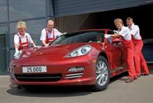 Här är Porsche Panamera nummer 25 000