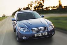 Subaru återkallar Legacy och Outback