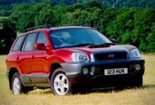 Hyundai Santa Fe från 2000.