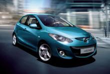 Mazda2 får ansiktslyft