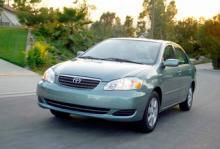 Toyota Corolla, årsmodell 2007.