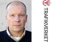 Henrik Berger, informatör på Trafikverket.