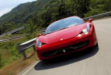 Brandfarlig Ferrari 458 Italia återkallas