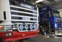 Många osäkra lastbilar på vägarna