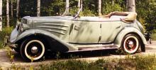 Curre Fredriksson var känd i hela gammelbils-Sverige för sin snabbt framförda, öppna Auburn från 1934.